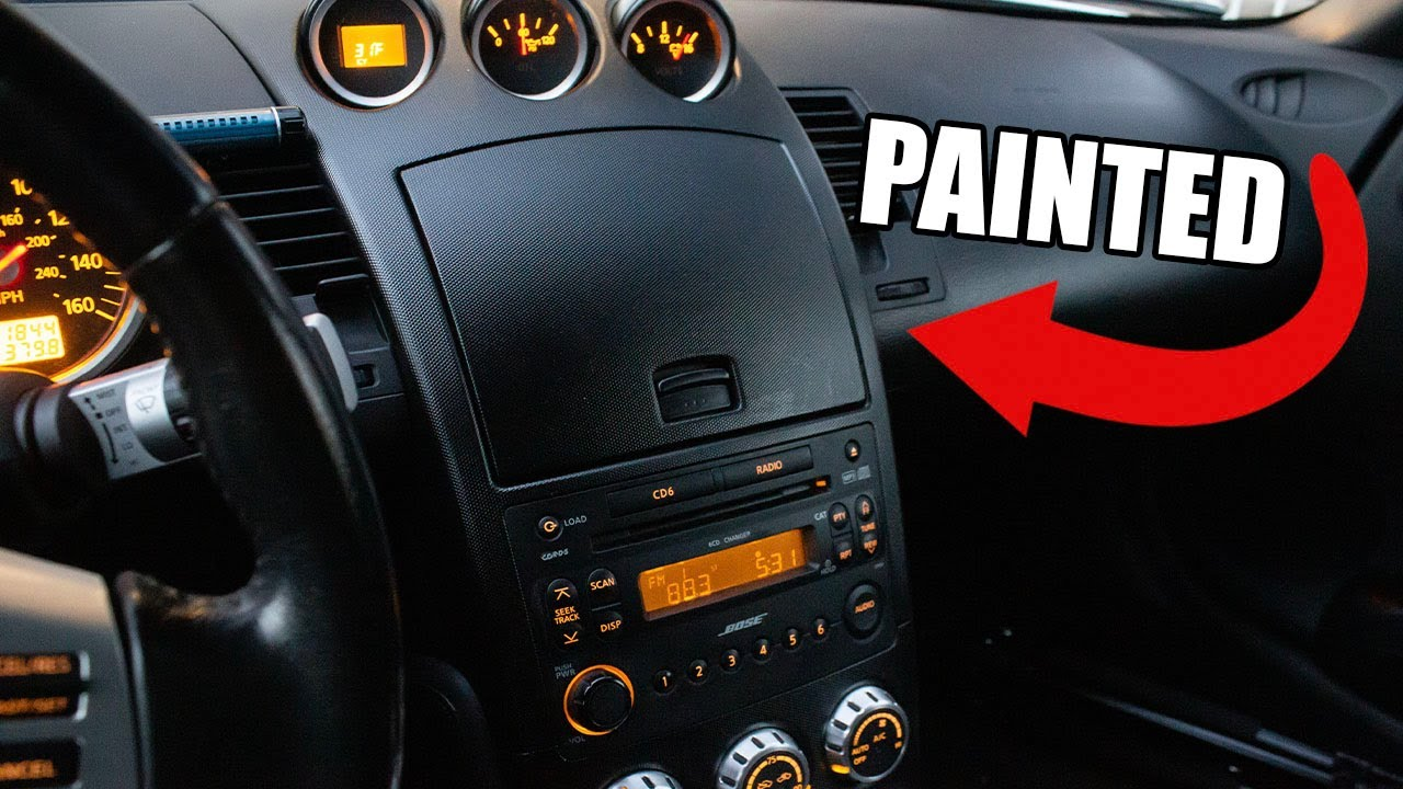 Paint Interior Trim Panels To Look New