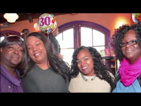 Keisha King 30th Birthday Slideshow