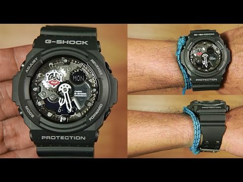 newest 1a184 de40b Casio G-shock GA-300-1A Big Face   Unboxing