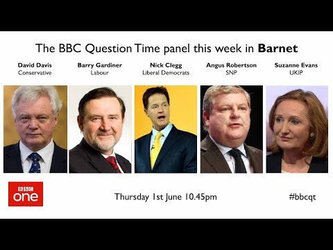 Question Time 1/6/17: Wobbly May, bad Brexit deal, Corbyn's taxes and lying politicians