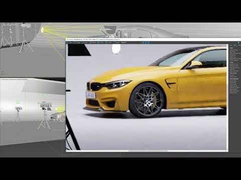 Corona 3   Nvidia AI Denoiser   BMW M4 Demo