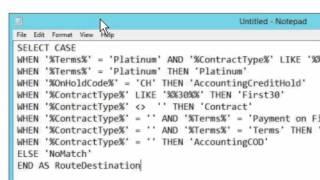 Trouble Shooting ShoreTel - ECC SQL data dips.