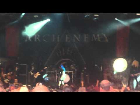 Arch enemy you will know my name live at two days a week youtube - Arch enemy diva satanica ...