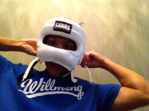 7f36a2c4c Sabas Face Saver Headgear Review - YouTube
