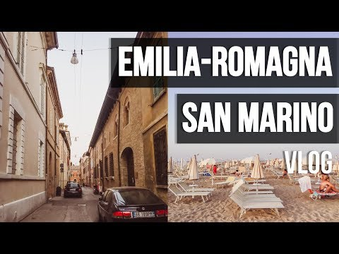 VLOG | EXPLORING EMILIA-ROMAGNA + SAN MARINO