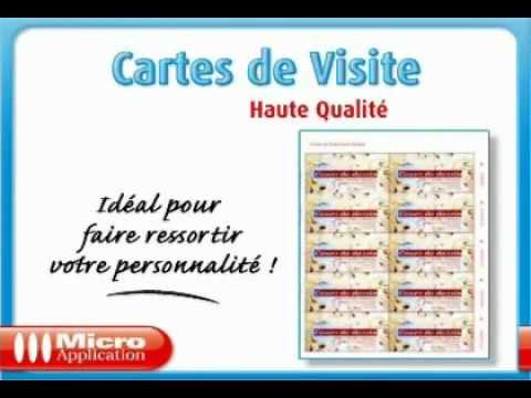 Cartes De Visite Haute Qualit