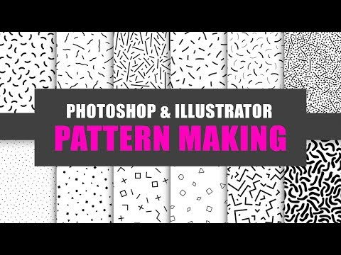 How to Make Pattern in Photoshop and Illustrator - Pattern Making Bangla Tutorial thumbnail