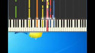 Take That   Million Love Songs [Piano tutorial by Synthesia]