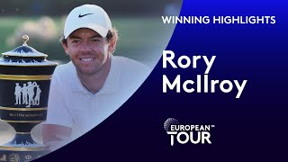 Rory McIlroy wins the 2019 WGC-HSBC Champions   Extended Winning Highlights
