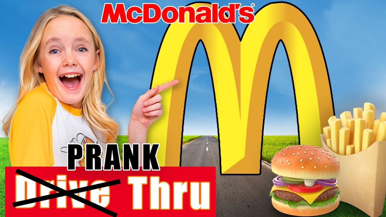 McDonald's Drive Thru Prank! Jazzy Skye and the Fun Squad!