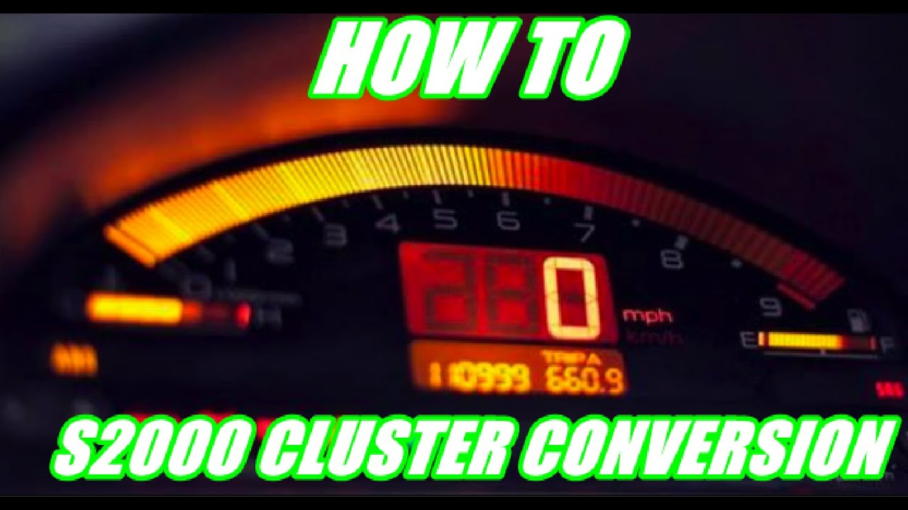 How To Do An S2000 Cluster Conversion Themidnightgarage 118 Youtube 1993 Prelude Wiring Diagram