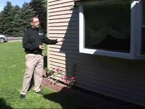 Siding Bay Window And Overhang Installation Youtube