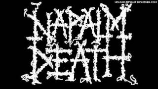 Napalm Death playing live in 1986 Birmingham, with the Scum A-side ...