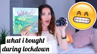 What I Bought During Lockdown *Haul*