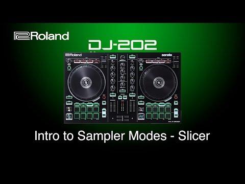 Roland DJ-202 - Intro to Sampler Modes - Slicer
