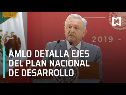 """AMLO encabeza la clausura del Foro Nacional """"Planeando Juntos la Transformación de México"""""""