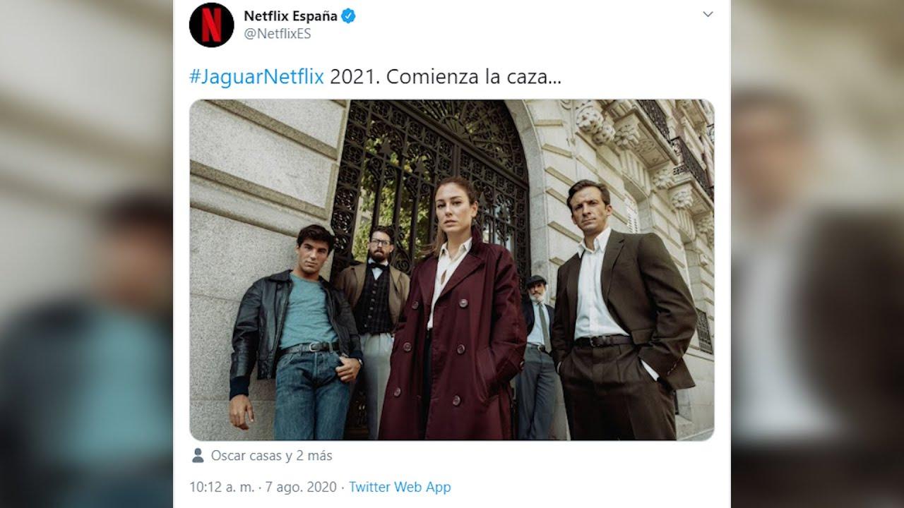 Blanca Suárez y Óscar Casas comienzan juntos el rodaje de la serie 'Jaguar'
