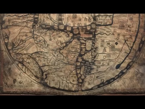 Mappa Mundi Flat Earth Map