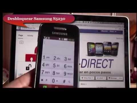 Como liberar un Samsung S5230 - aplica para todos los modelos Samsung