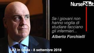 Alberto Forchielli si scusa con gli infermieri