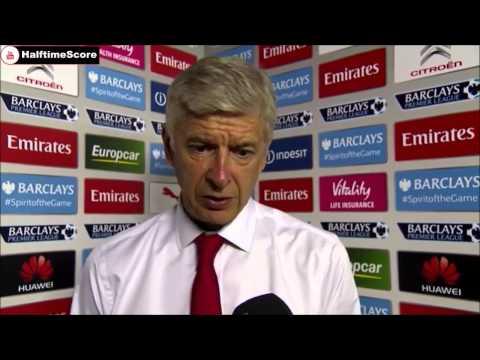 Arsenal 0-2 West Ham - Arsene Wenger Post Match Interview