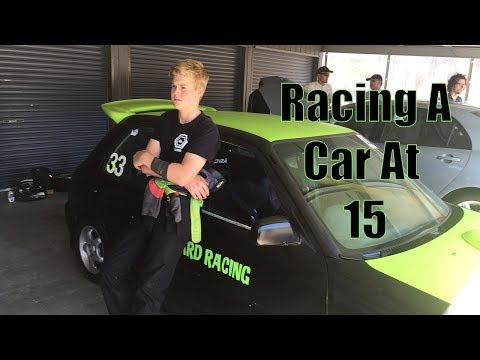 Racing A Car at the Age of 15