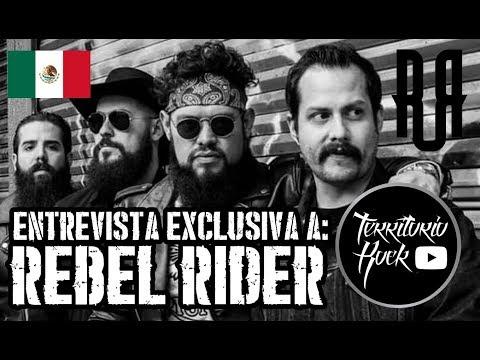 Entrevista a: REBEL RIDER (Mexico) - En gira por Argentina | Territorio Rock