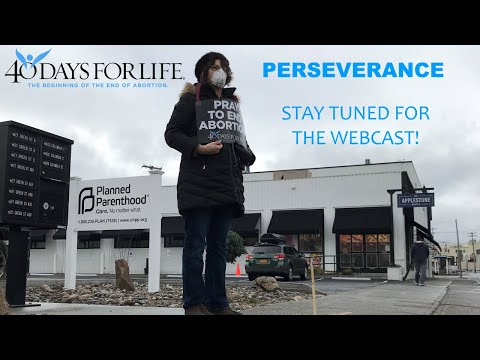 Spring 2020 Webcast - PERSEVERANCE