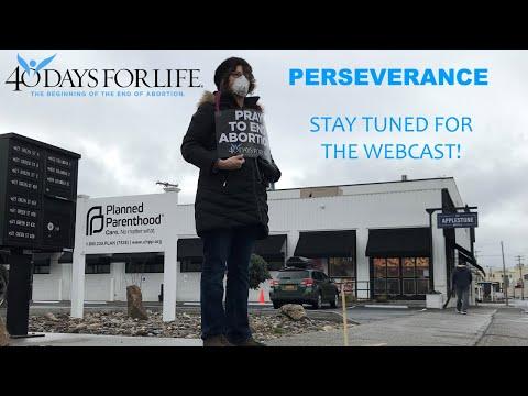 Spring 2020 Webcast, PERSEVERANCE
