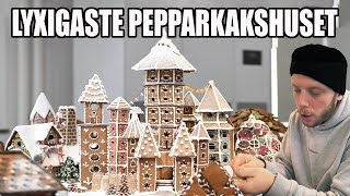 DET LYXIGASTE PEPPARKAKSHUSET.