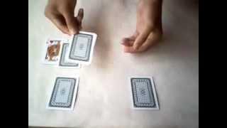 Ảo thuật bài Ảo ảnh - Card trick