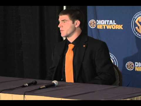 Tennessee QB Tyler Bray at SEC Media Days