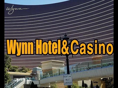 Walk through the Wynn Las Vegas. 2017
