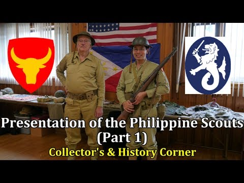Presentation of the Philippine Scouts | Part 1