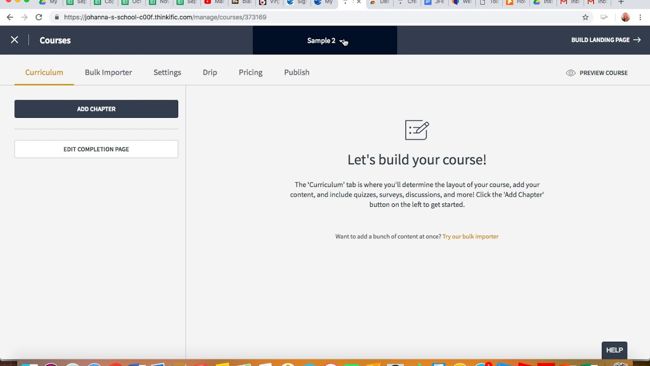 Thinkific Course Creation Tutorial