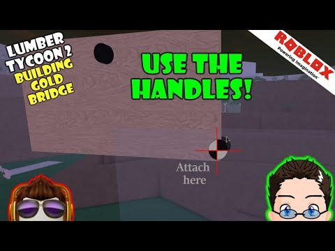 Roblox - Lumber Tycoon 2 - Use The Handles (They Attach)