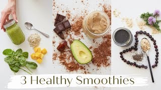 My current favorite healthy smoothie recipes for you | quick breakfast ideas, what to snack on when the run, & model's take post workout s...