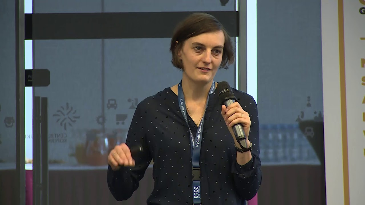 Image from Małgorzata Niewiem - GeoPython - how to save the world using Python - PyCode Conference 2018