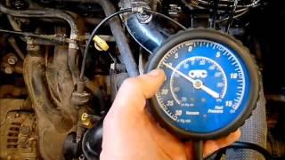Manque de puissance et problème de démarrage du moteur.