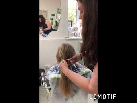 Мы сами срезаем и готовим волосы под наращивание