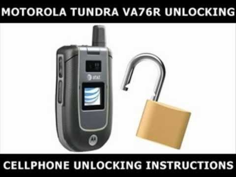 How To Unlock Any Motorola Tundra VA76R Using An Unlock Code