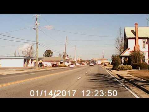 A drive through my hometown Baxley Georgia.