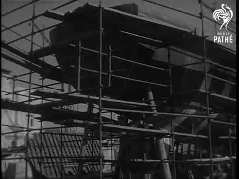 President Sukarno Visits Leghorn Shipyards 1956
