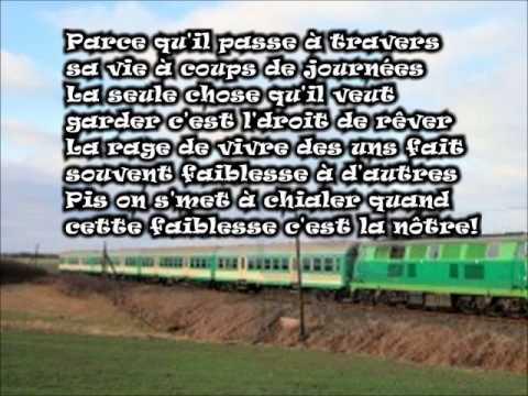 Vilain Pingouin Le train avec les paroles