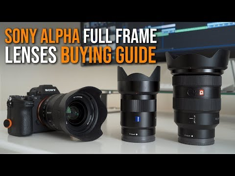 Sony Full Frame Lenses BUYING GUIDE - See Description for Black Friday 2018 Deals! a7 III a7RIII a9