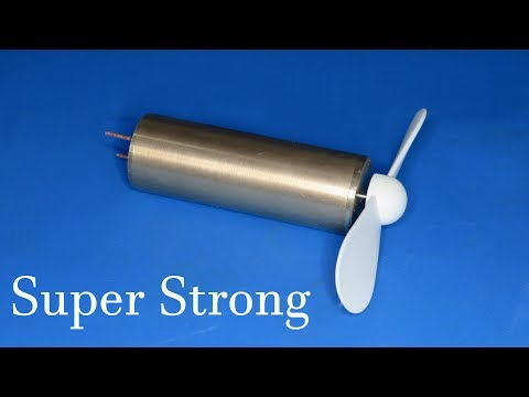 How to make super strong DC motor
