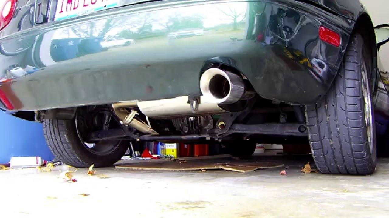 na miata stock vs yonaka exhaust sound comparison