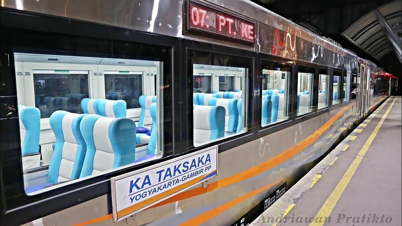 Naik Kereta Api Masa Depan Stainless Steel Taksaka Yogyakarta Purwokerto