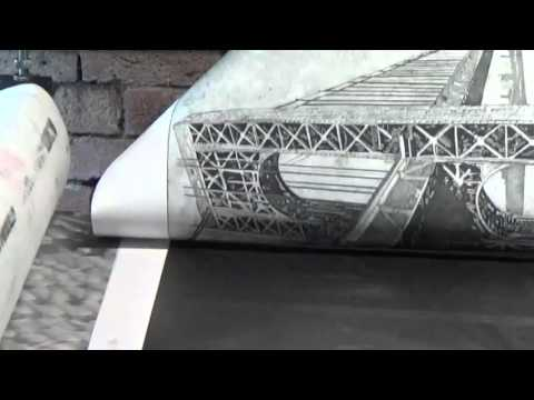 Using an Etching Press to print intaglio plates