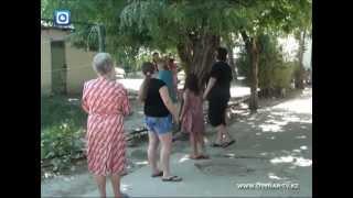 Шымкентцы устроили скандал из-за детской площадки
